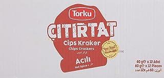 Torku Çıtırtat Acılı Kraker 60 Gr x 12
