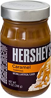 Hershey's Classic Caramel Topping, 14-Ounce Container (Pack of 12)