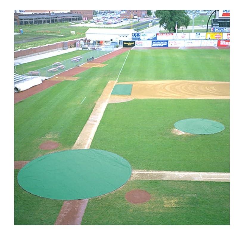 フクロウオーストラリア人一般COLLEGIATE PACIFIC 1150575 Ultra Lite Field Covers Set - Green