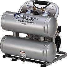California Air Tools CAT-4610AC Ultra Quiet & Oil-Free 1.0 hp 4.6 gallon Aluminum..