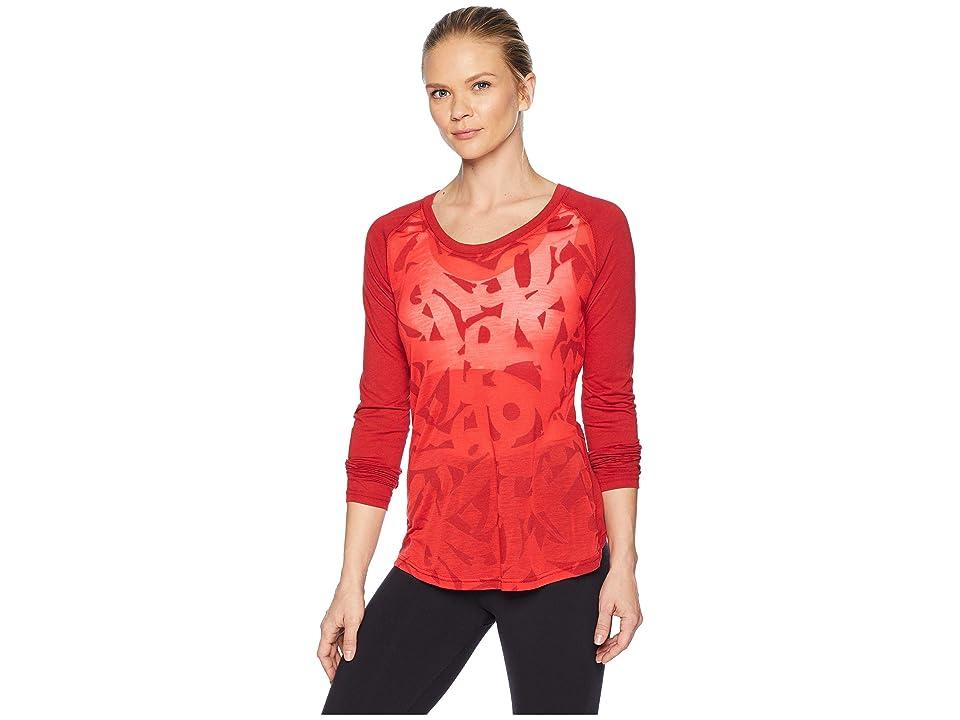 Reebok CrossFit Burnout Long Sleeve T-Shirt (Rich Magnum) Women