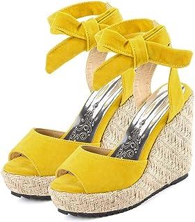 b4d7b280 Sandalias De Mujer Verano 2019 Sandalias con Plataforma para Mujer Zapatos  De Cuña Comodos Cuñas Sandalias