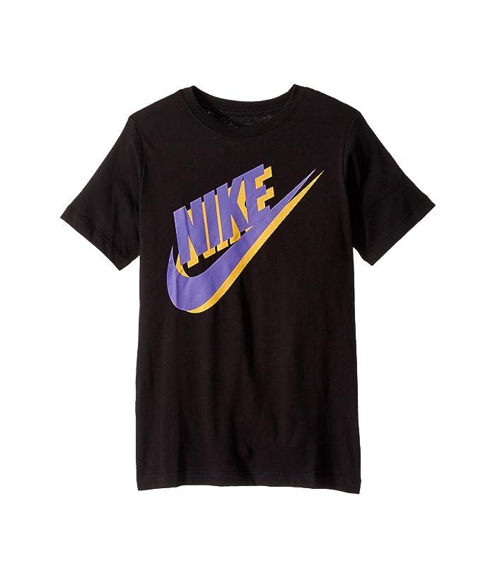 Nike Kids NSW Large Futura T-Shirt (Big Kids)