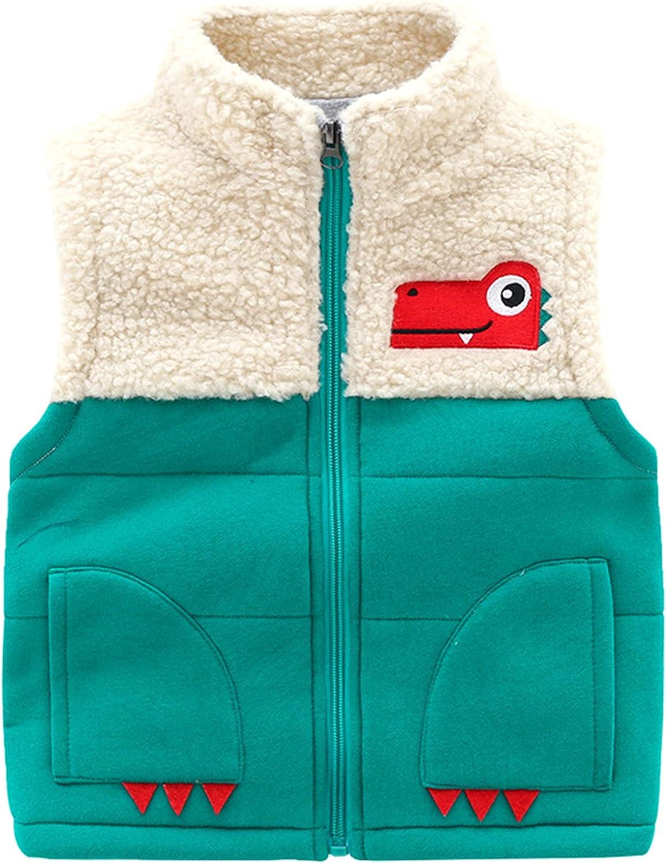 Lobmouse Baby Fleece Gilets Same day shipping Boy Girl Vest Waistco San Antonio Mall Toddler Winter