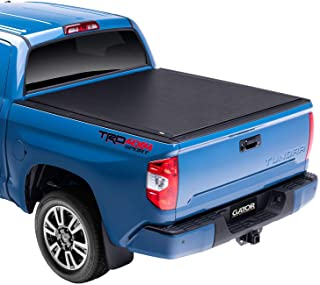 Gator ETX Soft Roll Up Truck Bed Tonneau Cover | 53413 | fits 07-19 Toyota Tundra with Track System, 6.6' Bed | Made in Th...