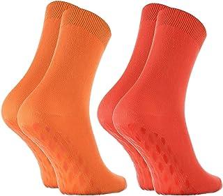 Rainbow Socks - Women Men Bamboo Non Slip ABS Ankle Socks