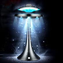 $219 » Magnetic Levitation UFO Bluetooth Speaker, 360° Rotation, LED Flash, Wireless Floating Rechargeable Speaker, uitable Micro...