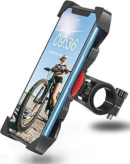 comprar comparacion Bovon Soporte Movil Bicicleta, Anti Vibración Soporte Movil Bici Montaña con 360° Rotación para Moto, Universal Manillar C...