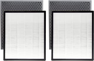 4 Pack Pre-Filter & 2 Pack True HEPA & 2 Pack Activated Carbon Replacement Filters Set Compatible with Levoit LV-PUR131, LV-PUR131S,LV-PUR131-RF Air Purifier