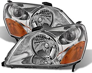 ACANII - For 2003 2004 2005 Honda Pilot Headlights Headlamps Replacement 03-05 Driver + Passenger Side