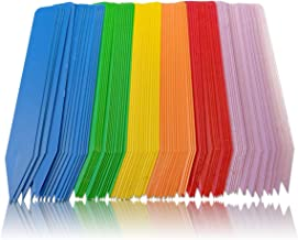 Color Plant Labels - Pack of 90 Multi-colored Plant Markers, Plant Stakes, Plant Labels