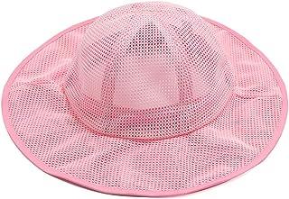 LYDIAMOON Sombrero para El Sol Malla De Secado Rápido Transpirable Anti-UV Pescador Fino Y Ligero para Girl Boy