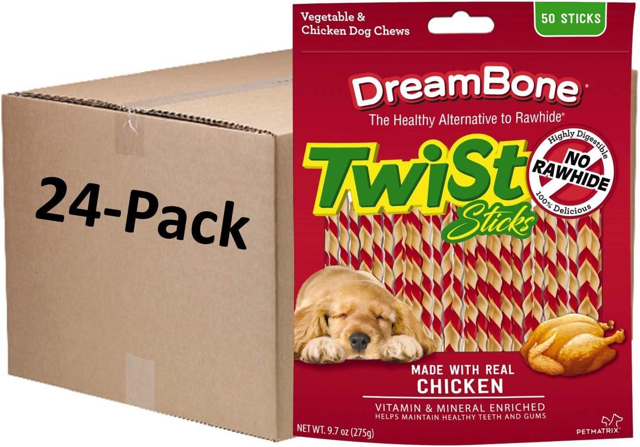 DreamBone Twist Sticks Rawhide Free Dog Chews Ch Real with wholesale Made 100% quality warranty