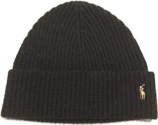 Mens Pony Logo Skull Cap Beanie Hat