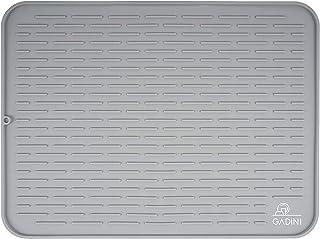 Gadini Silicone Dish Drying Mat For Kitchen - 24 X 18 Exrta Large Size (XXL) - Dish Drying Mat - Kitchen Drying Mat - Dish...