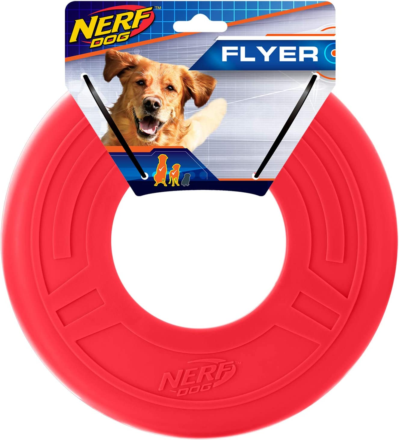 Nerf Dog Atomic Ranking TOP14 Flyer Toy Lightweight Frisbee Durable and Super-cheap