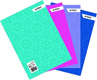 MAXI DRAWING BOOK COLOUR B4 110GSM 20 SHEETS,Assorted colours