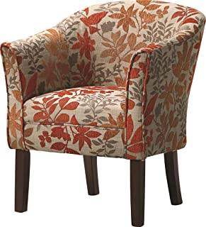 Best red floral accent chair Reviews