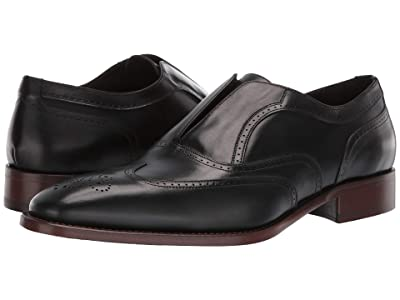 J&M Collection Cormac Slip-On (Black) Men