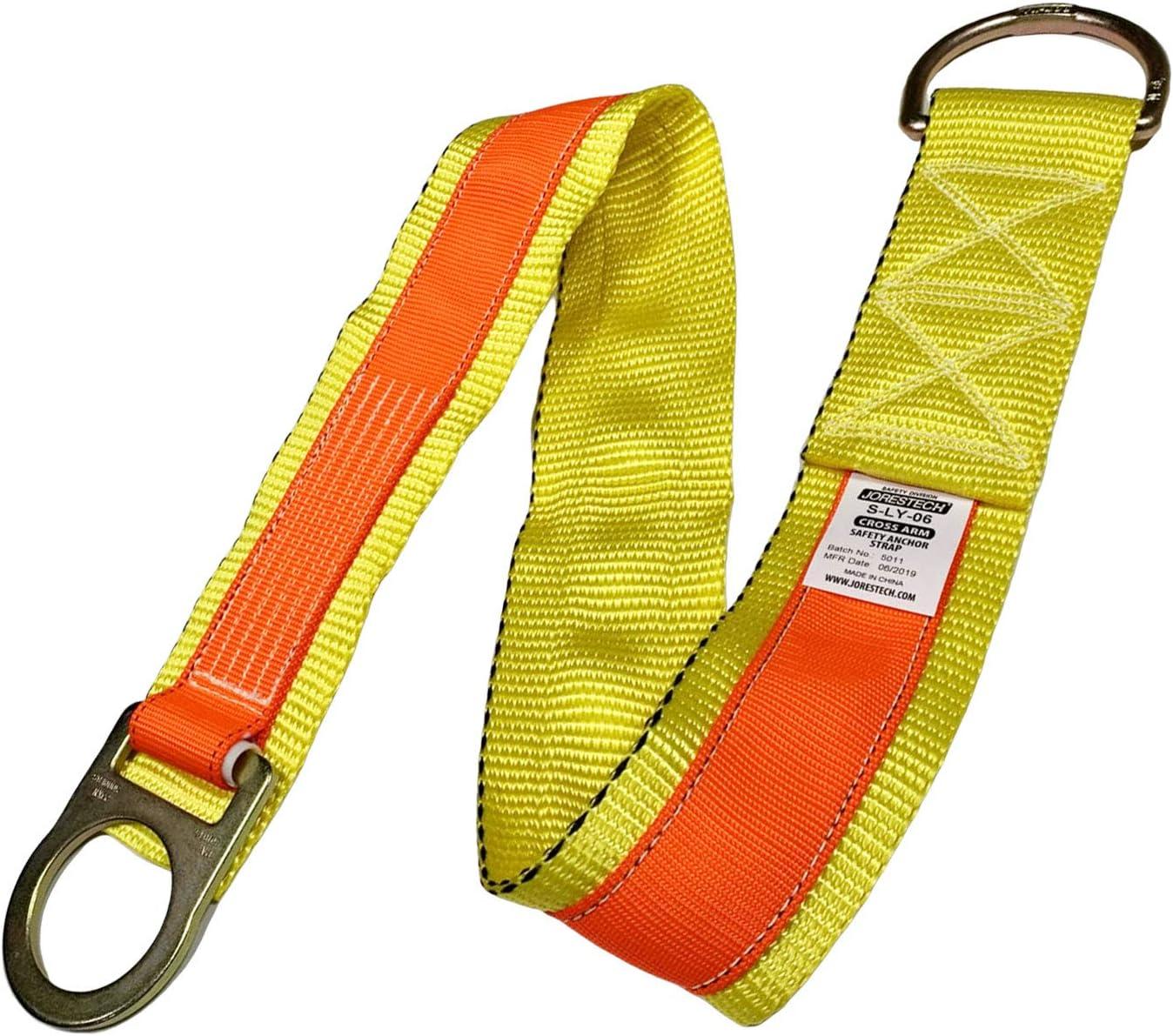 JORESTECH 4-Foot Safety Lanyard Fall Protection Equipment (Cross