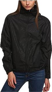 (ランバオシー) Lanbaosi ウインドブラスト フード付 ウインドジャケット メンズ レディース アウター 超軽量 防水 防風 UVカット ウェア アウトドア ジップ ジャンパー ヤッケ パーカー 男女兼用
