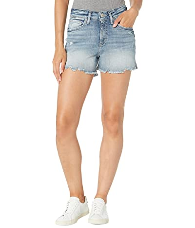 Silver Jeans Co. Avery High-Rise Curvy Fit Shorts L54907AJX276