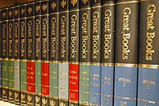 Britannica Great Books of the Western World (Deluxe Black Binding) 54 Volumes Complete (Great Books of the Western World, Complete Set)
