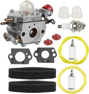 Powtol 753-06288 751-15112 Carburetor fits Troy Bilt Craftsman TB35EC TB2044XP TB2040XP TB2MB TB430 TB225 Murray M25B MS2550 MS2560 MS9900 RM430 Blower Trimmer Weed Eater C1U-P27 with Tune Up Kit