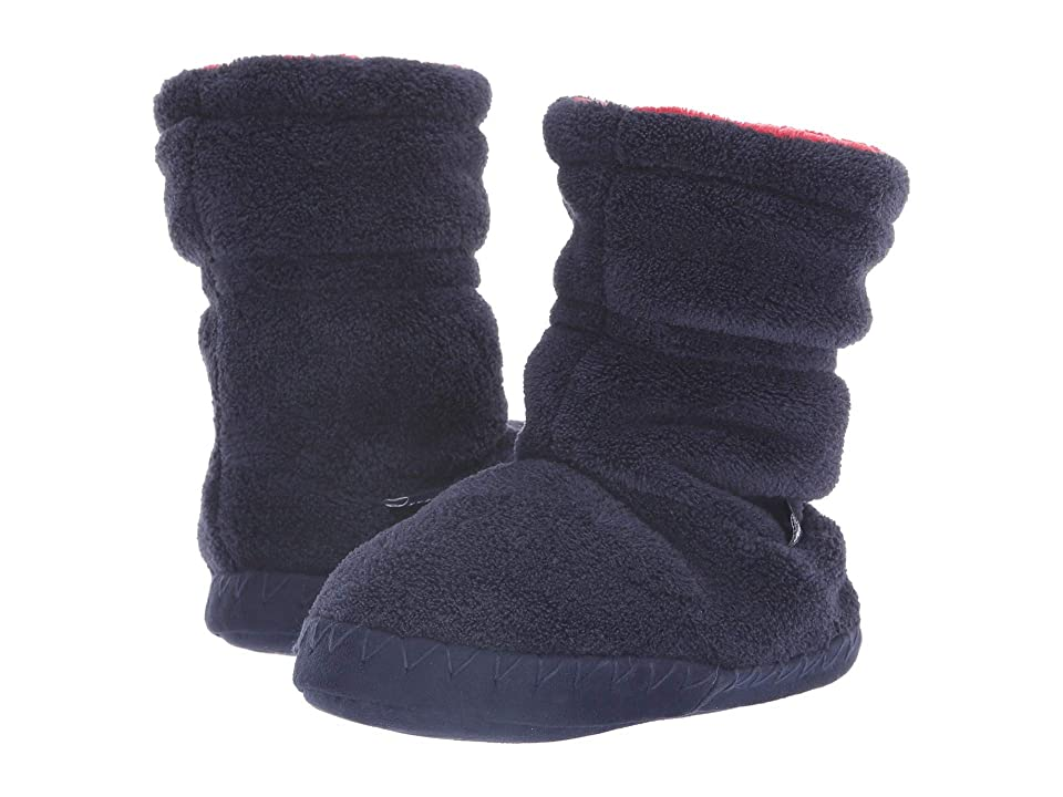 Joules Kids Fleece Lined Slippersock (Toddler/Little Kid/Big Kid) (French Navy) Boys Shoes