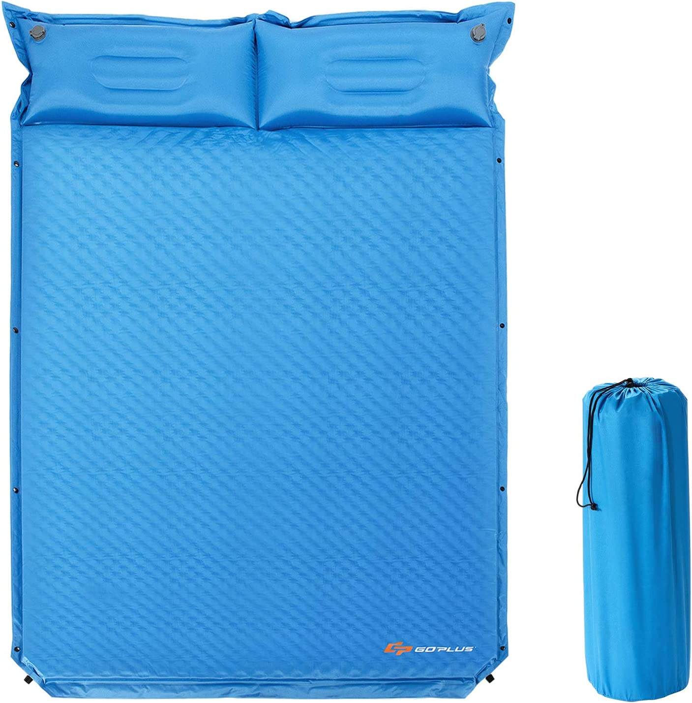 Goplus Camping Sleeping Pad Foam Bargain P w Mat Arlington Mall Self-Inflating