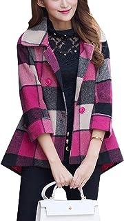 معطف رياضي للسيدات ناعم ومريح منقوش وجيوب صغيرة كبيرة للشتاء من SportsXX