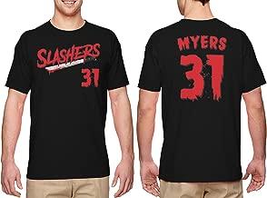HAASE UNLIMITED Slashers Myers 31 Jersey - Horror Movie Men's T-Shirt