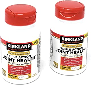 Kirkland Signature Triple Action Joint Health, 110 Coated Tablets(2 of Pack)