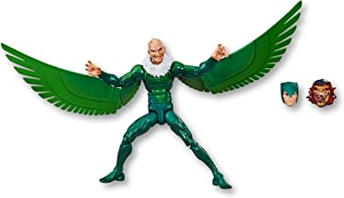 "Marvel Legends Series -- Vulture 6"" Collectible Action Figure with Build A Figure Piece -- Kids Toys - Ages 4+"