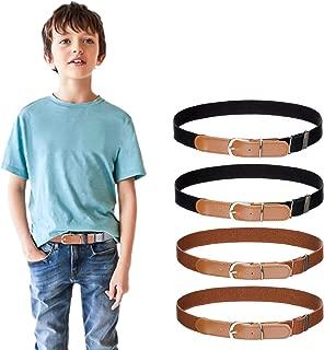 Kids Boys Girls Elastic Belt - Stretch Adjustable Belt...