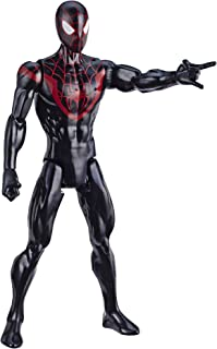 """Spider-Man Marvel Titan Hero Series Mile Morales 12""""-Scale Super Hero Action Figure Toy Great Kids for Ages 4 & Up"""