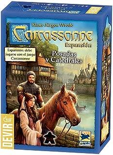 Devir- Carcassonne: Posadas y catedrales (BGCARPO