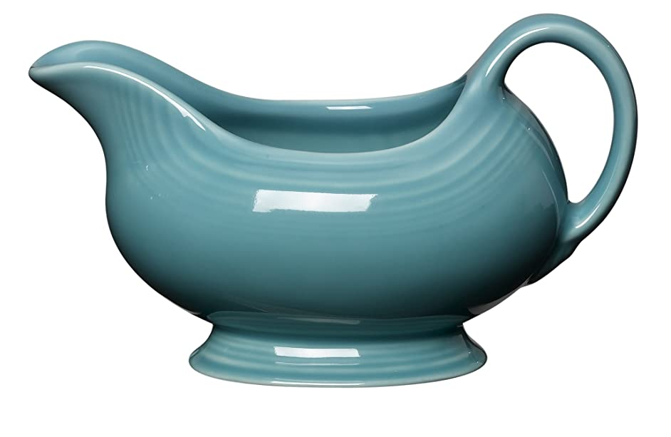 Fiesta 18-1/2-Ounce Sauceboat, Turquoise