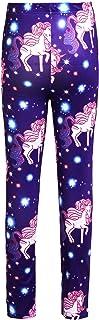 Aislor Enfant Fille Legging Pantalons Crayon Licorne Danse Jogging Collant Automne Hiver Elastique Jambières Extensibles C...
