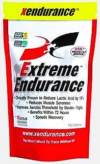 Xendurance Extreme Endurance | Reduces Lactic Acid & Muscle Soreness | 180 Tablets