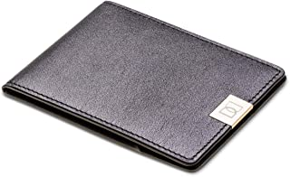 DUN Black Leather For Men - Bifold Wallets