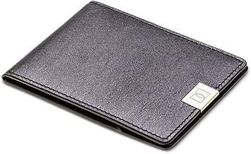 DUN Black Leather For Men - Bifold Wallets