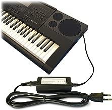 ABC Products® Reemplazo del cable de Casio DC 12V / 12V Adaptador Adaptador Fuente de alimentación / Adaptador de corriente AD-A12150LW, AD-A12150, Privia Pro para Casio Teclado electrónico / Keyboards / Digital Piano / Synthesizers (modelos indican a continuación)