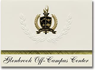 Signature Announcements Glenbrook Off-Campus Center (Glenview, IL) Graduation Announcements, Presidential style, Basic pac...