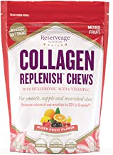 Reserveage, Collagen Replenish Chews, Skin and Nail Supplement, Supports Collagen and Elastin Production, Gluten Free, 60 soft chews (30 servings)