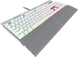 CORSAIR K70 RGB MK.2 SE Mechanical RAPIDFIRE Gaming Keyboard - USB Passthrough & Media Controls - PBT Double-Shot Keycaps - Cherry MX Speed - RGB LED Backlit (Renewed)