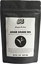 Assam Loose Leaf Black Tea with Golden Tips (200+ Cups) - Fresh Organic Premium Second Flush Harvest - Malty, Full Bodied Breakfast Tea - Directly Shipped from our Family-Owned Estate in Assam, India