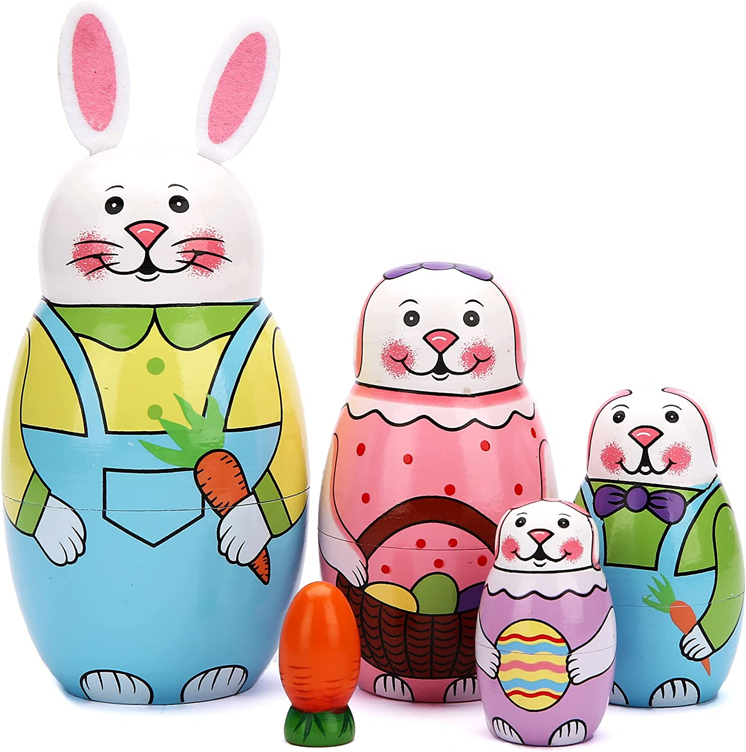 Factory outlet JoyNest Russian Nesting Dolls Matryoshka Nested Wood Se Be super welcome Stacking