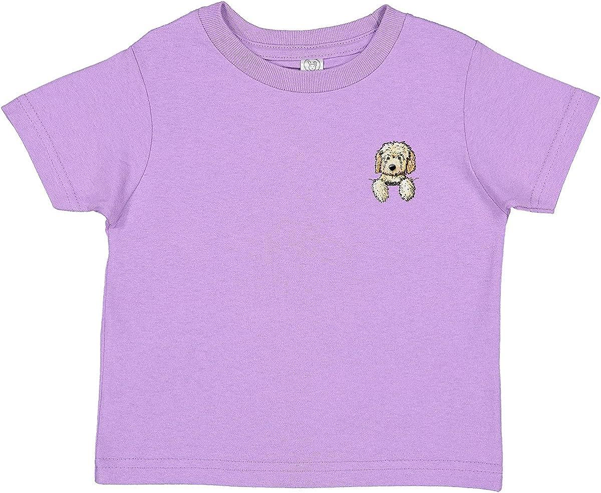 inktastic Pocket Goldendoodle Toddler T-Shirt - KiniArt
