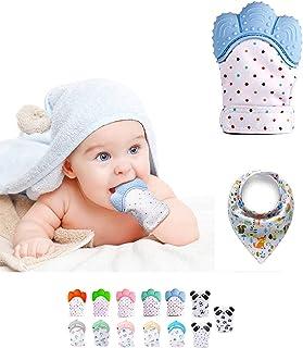 Funky Planet Baby dentición Manoplas, Protege Manos Bebés
